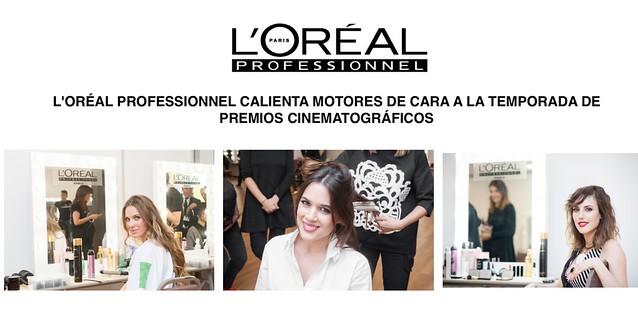 L'Oréal Professionnel calienta motores de cara a los Premios Cinematográficos