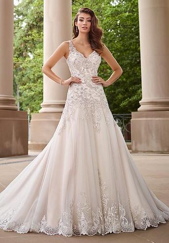 Tendance robe du mariage 2017 2018 mon cheri wedding dre for Wedding dresses mobile al
