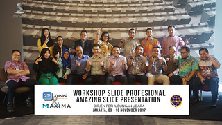 "Workshop Slide Profesional ""Amazing Slide Presentation"" bersama Dirjen Perhubungan Udara 