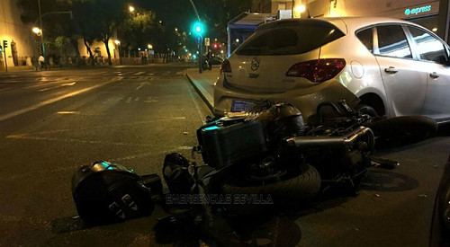 accidente luis montoto ebrios | by Nervión al día