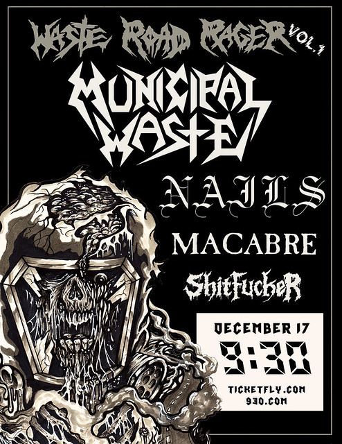 Municipal Waste at 9:30 Club