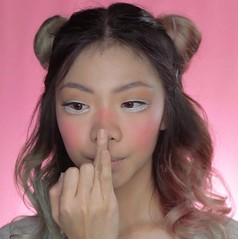 diy makeup tutorials snapchat rainbow filter fun easy halloween makeup tutorial