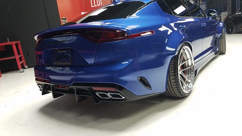 2018 - WestCoastCustoms - Kia Stinger GT Wild Body - 2017 SEMA - 05 | by Az online magazin