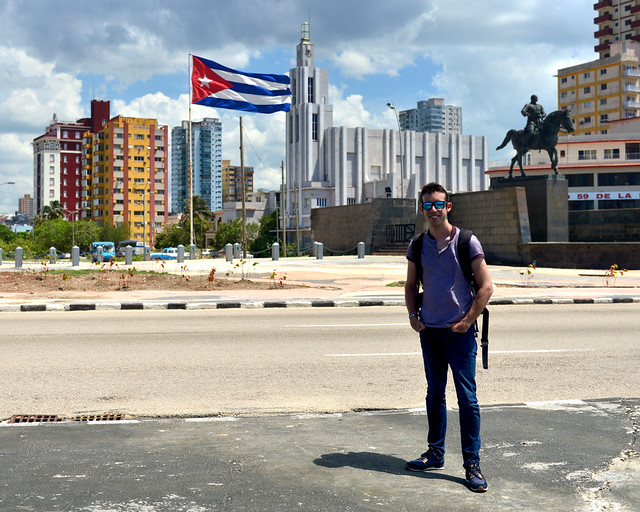 Miguel Egido en La Habana