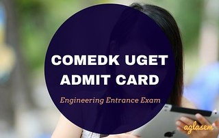 COMEDK 2018 Admit Card (www.comedk.org)   Download Here COMEDK UGET TAT