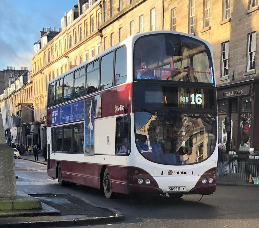 lothian buses 701 sn55 bjx (04.12.2017) | lothian buses 701 … | flickr