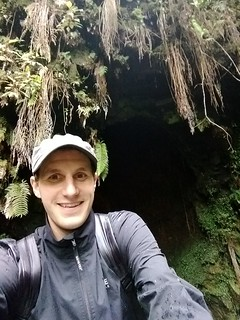A picture of the author (Matt) in a rainforest!