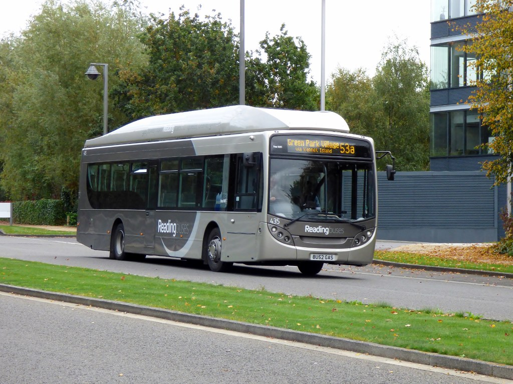 reading buses 435 - bu52gas | operator: reading buses ltd fl… | flickr