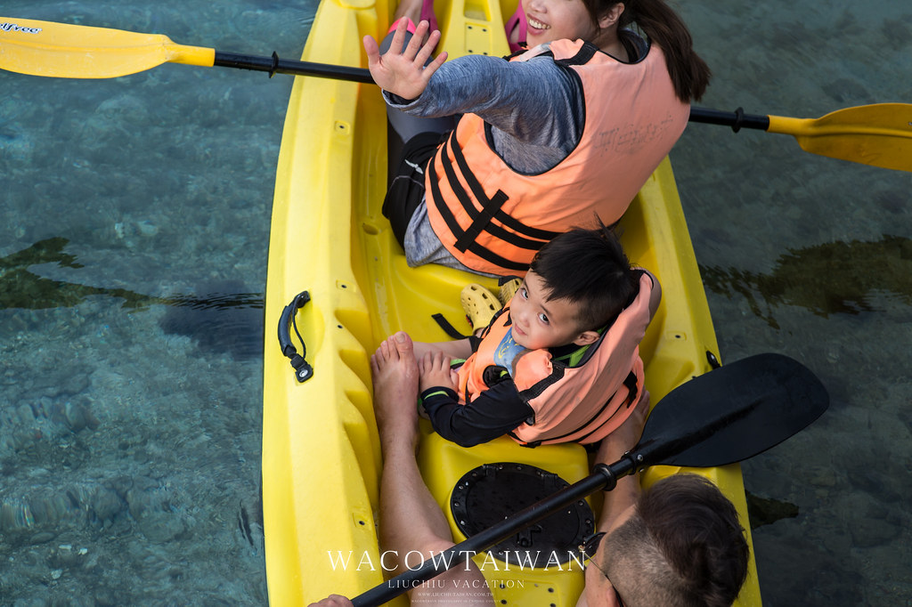 小琉球旅遊行程建議-獨木舟體驗-哇靠小琉球民宿網