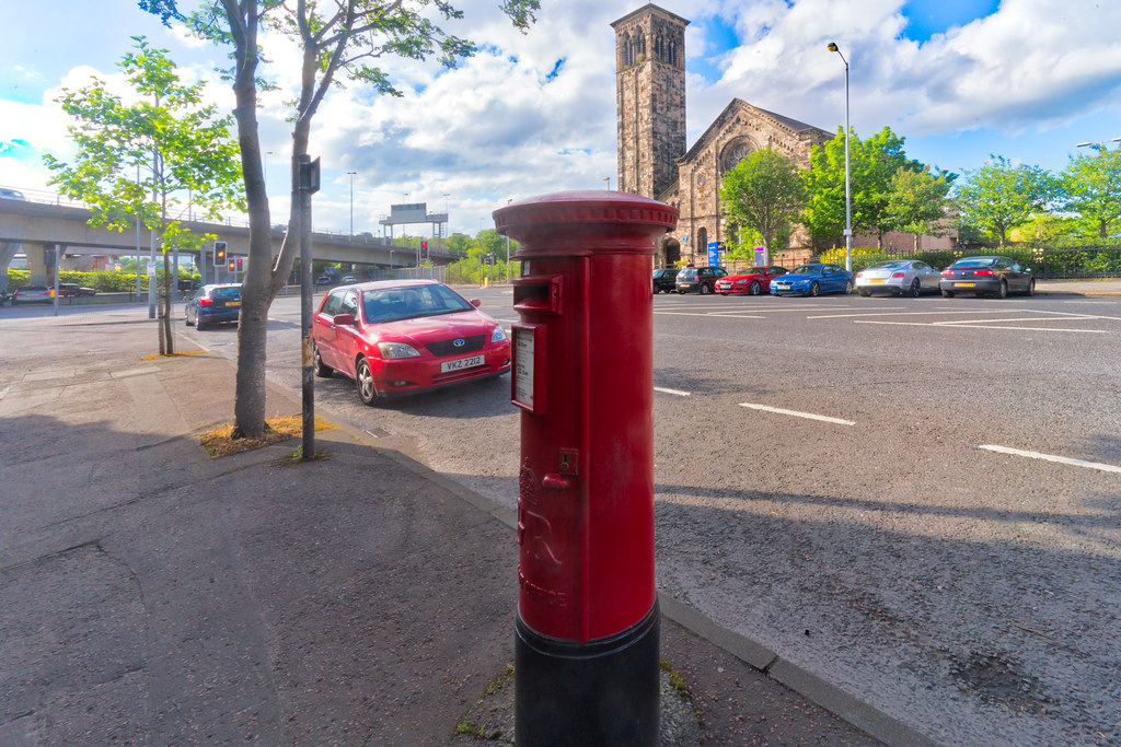 OLD STYLE POSTBOX 001