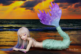 Mermaid tail fin - Dragon shape - for Fairyline Sia | by AnnaZu