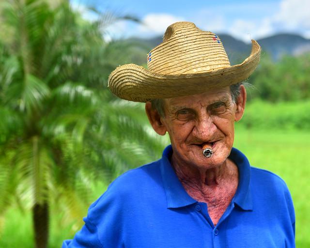 Retratos de un guajiro de Viñales