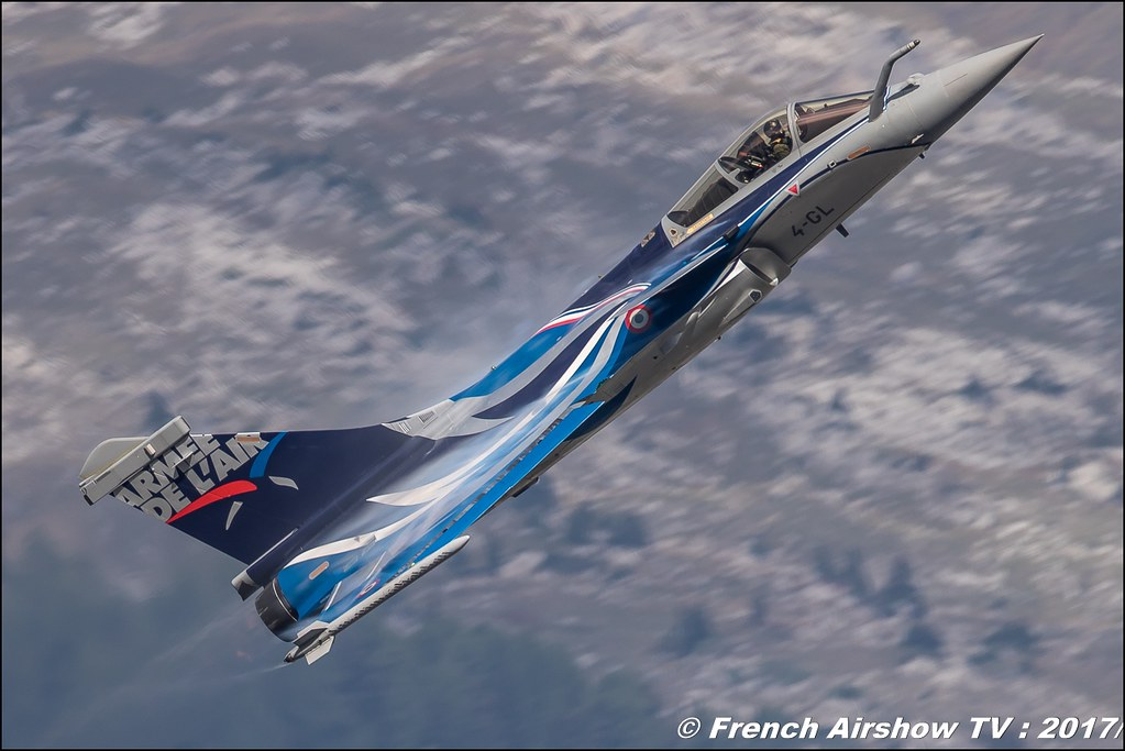 Rafale Solo Display Alpha , Dassault , RSD 2017 , French Air Force , Breitling Sion Air Show 2017 , Dassault Aviation , montagne , Alpes suisse , Canton du Valais , Meeting Aerien 2017