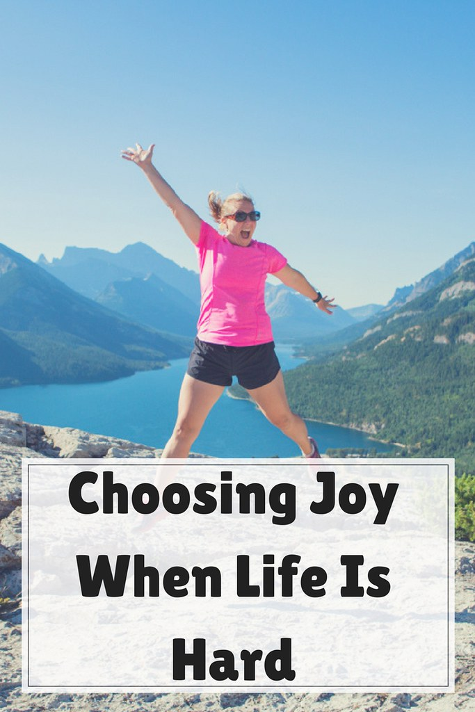 Sometimes life can be hard and we are struggling to find joy. Here are five ways to help you choose joy.