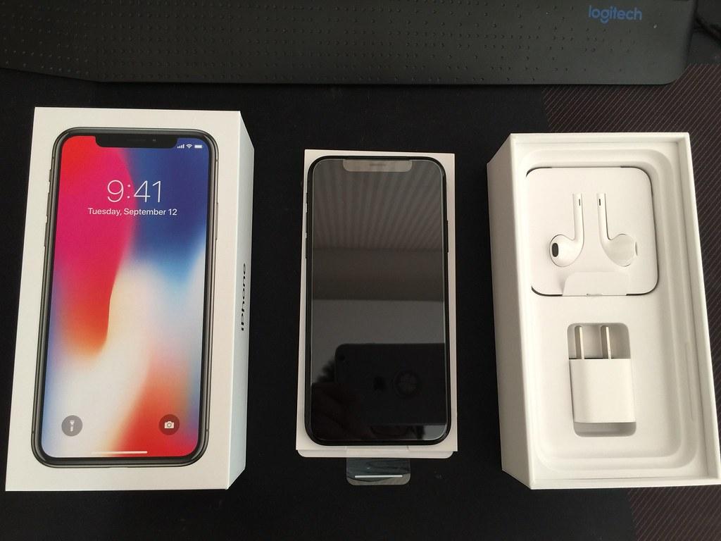 iPhone X灰黑色256Gb开箱记录 生活&旅行 第3张