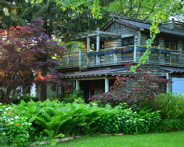 Una de las casas más bonitas de Ward's Island