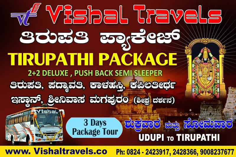 Vishal Travels-Responsive PopUp  Banner