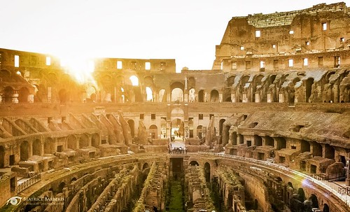 beautiful Inside the Colosseum.⠀ .⠀...
