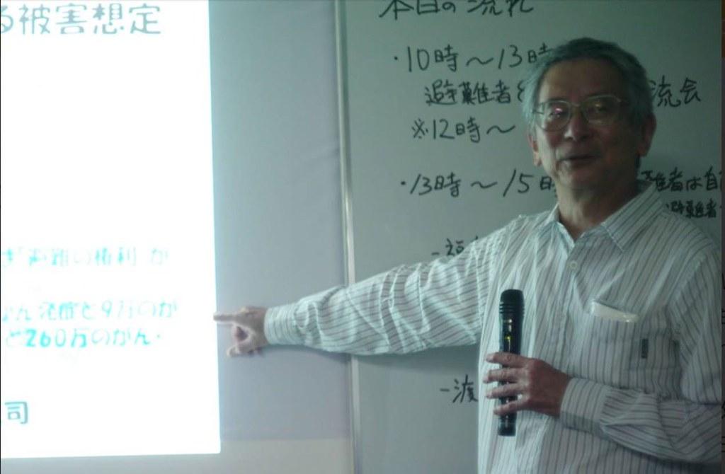 圖2:渡邊悅司先生。