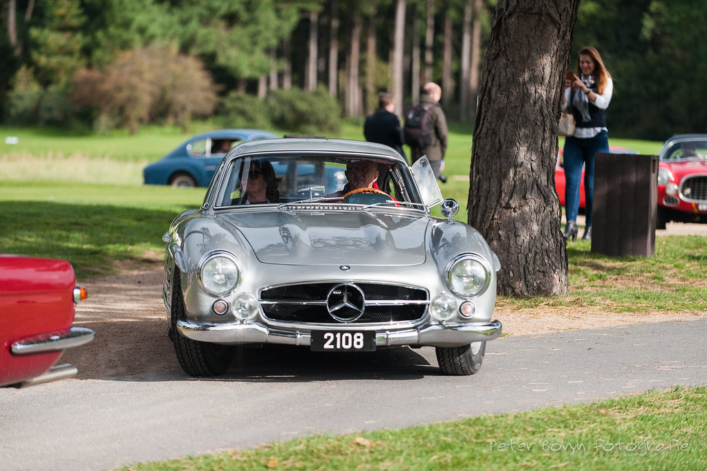 mercedes 300 sl gullwing 1955 w198 zoute rally zoute gra flickr. Black Bedroom Furniture Sets. Home Design Ideas