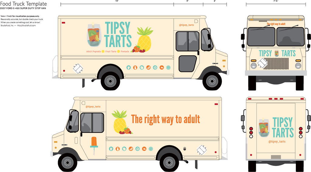 food truck template julia ditro flickr