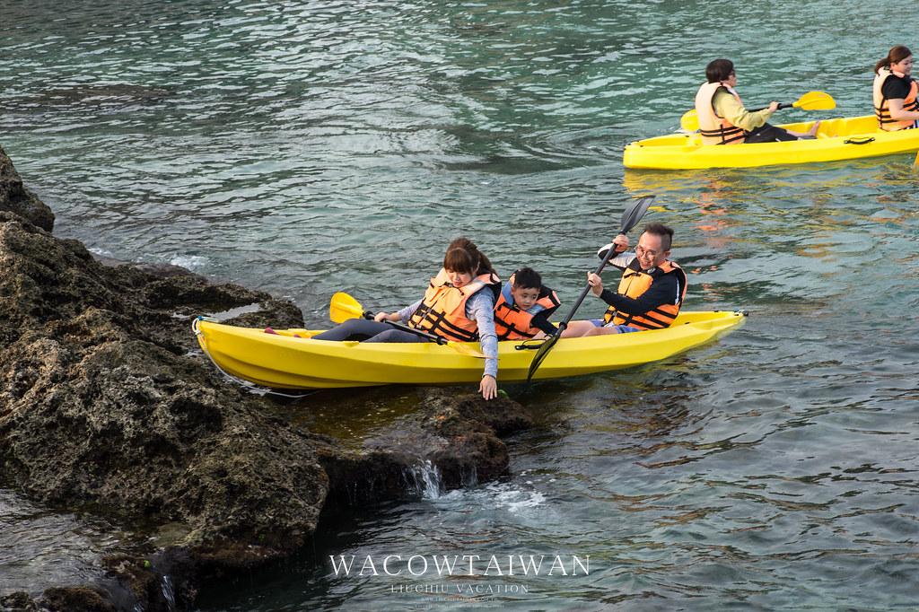 小琉球旅遊活動推薦獨木舟