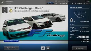 Gran Turismo Sport - GT League - FF Challenge