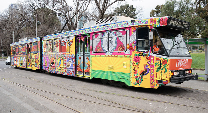 Melbourne Tram Artists Announced for 2017