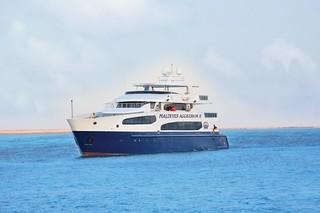 Maldives Aggressor II barco vida a bordo Maldivas