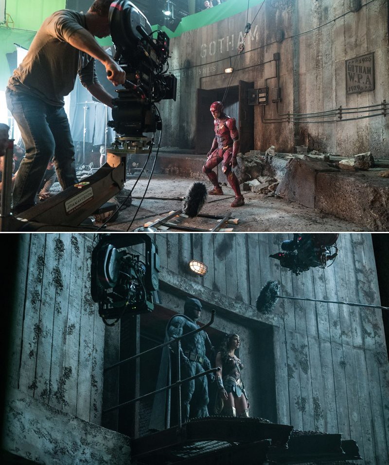 Justice League shooting locations