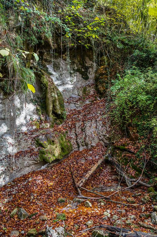 Fuente de la Pared del Capellán, de camino al Nacedero del Urederra