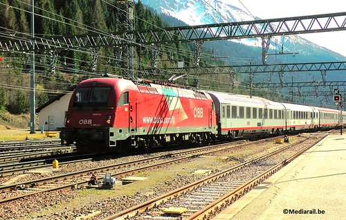 EC94 Bologna-Munich at Brennero/Brenner - 12 April 2017 | by Mediarail.be
