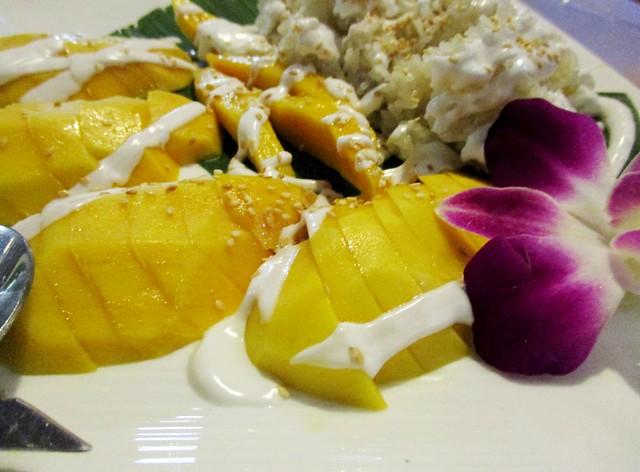 Flavours mango sticky rice