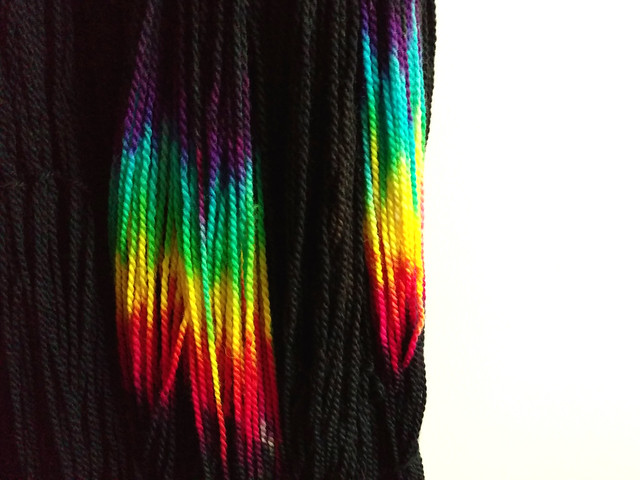 RESERVED: Awesome Aran – hand-dyed pure superwash British wool yarn 100g – 'ZX'