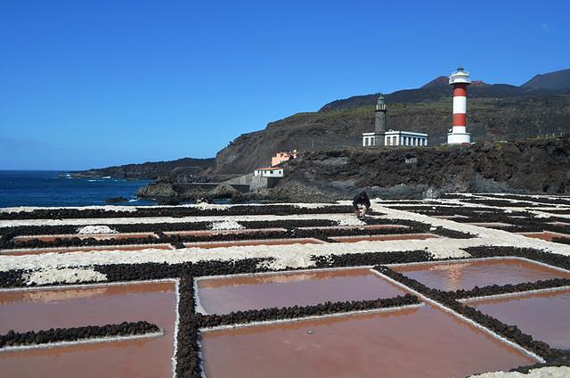 Salt flats, Fuencaliente, La Palma
