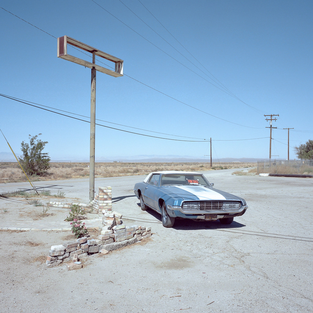 for sale runs great. mojave desert, ca. 2017.   by eyetwist