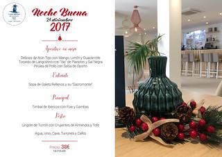 HOTEL ANTEMARE - MENÚ NOCHE BUENA