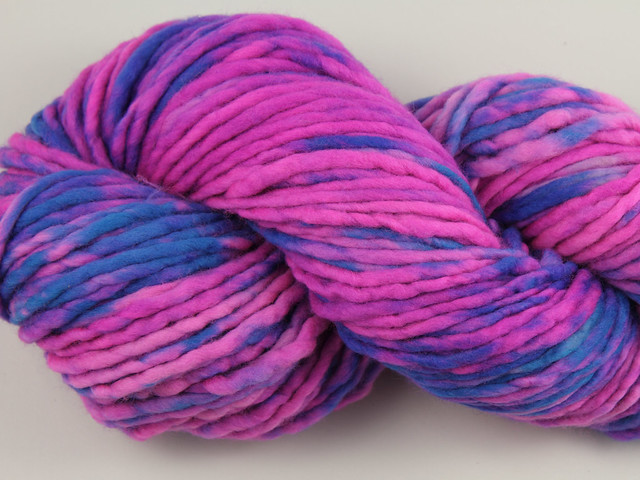 Phlump Merino – hand-dyed super chunky superwash wool yarn 200g – 'Interstellar Fugitive'
