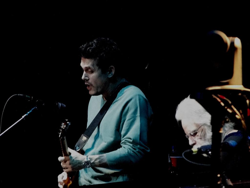 Dead And Company John Mayer Bob Weir Madison Square Garden Flickr