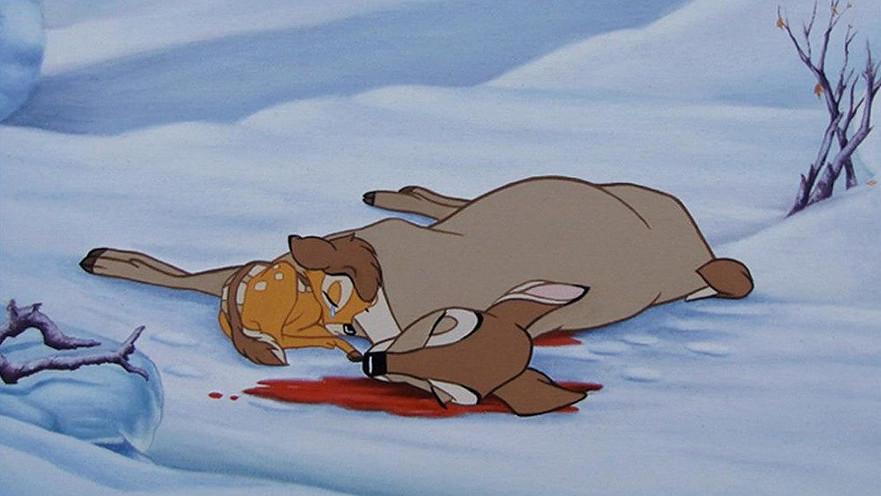 muerte madre de Bambi