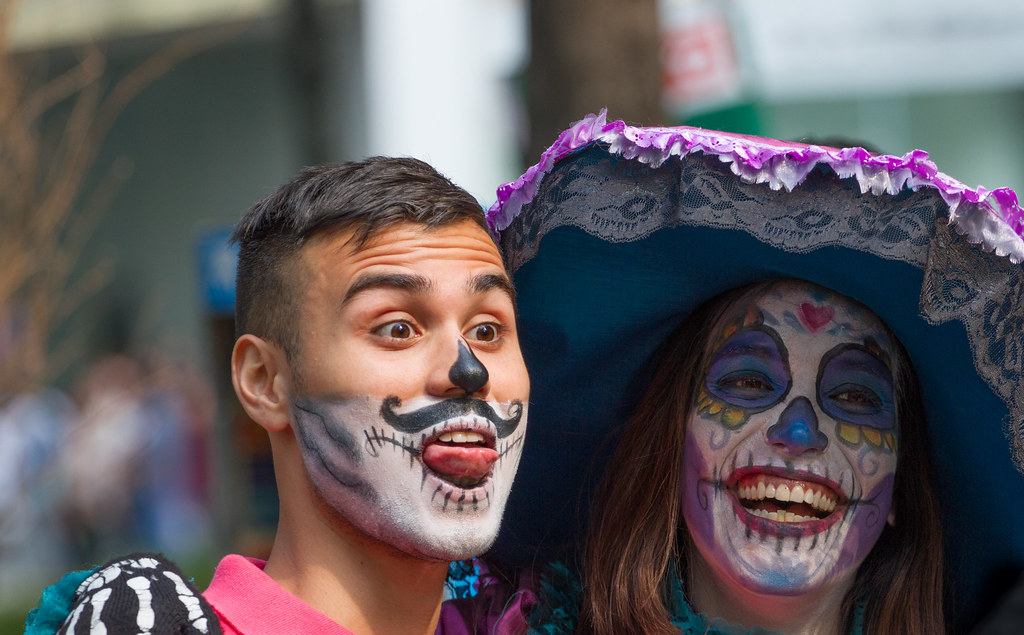 Faces At Day Of The Dead 2017 Faces At Day Of The Dead 201 Flickr