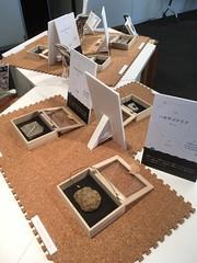 ハチラボ ときめく化石の展示会 2017.11.5