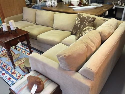 Sectional sofa $970 | by Ellaway's Attic