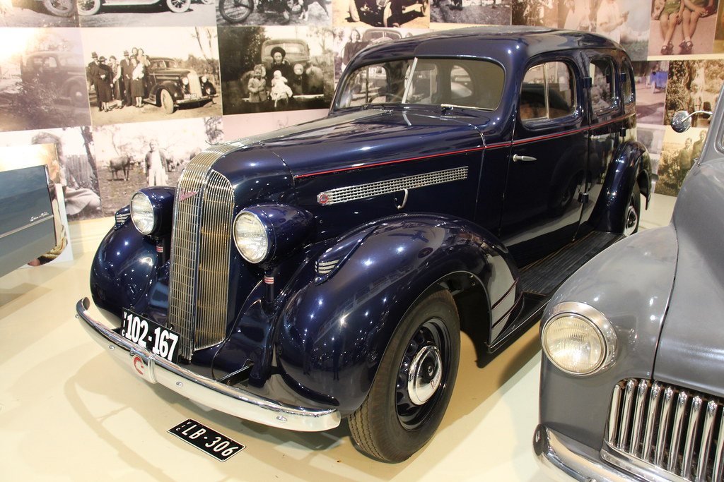 1935 Pontiac Series 701 Master 6 Sedan Gm Created