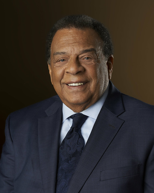 Portrait image of Andrew Young