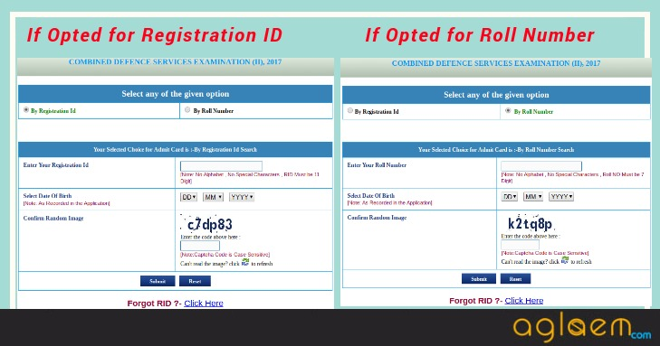 UPSC CDS (2) 2018 Admit Card (Released) - Download Here CDS Admit Crad