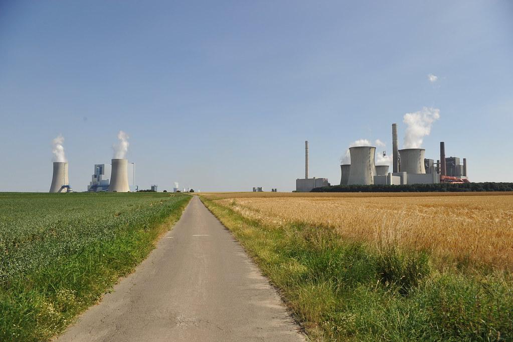 德國褐煤發電廠紐拉特(Neurath)發電廠。圖片來源:TelepermM(CC BY-SA 4.0)