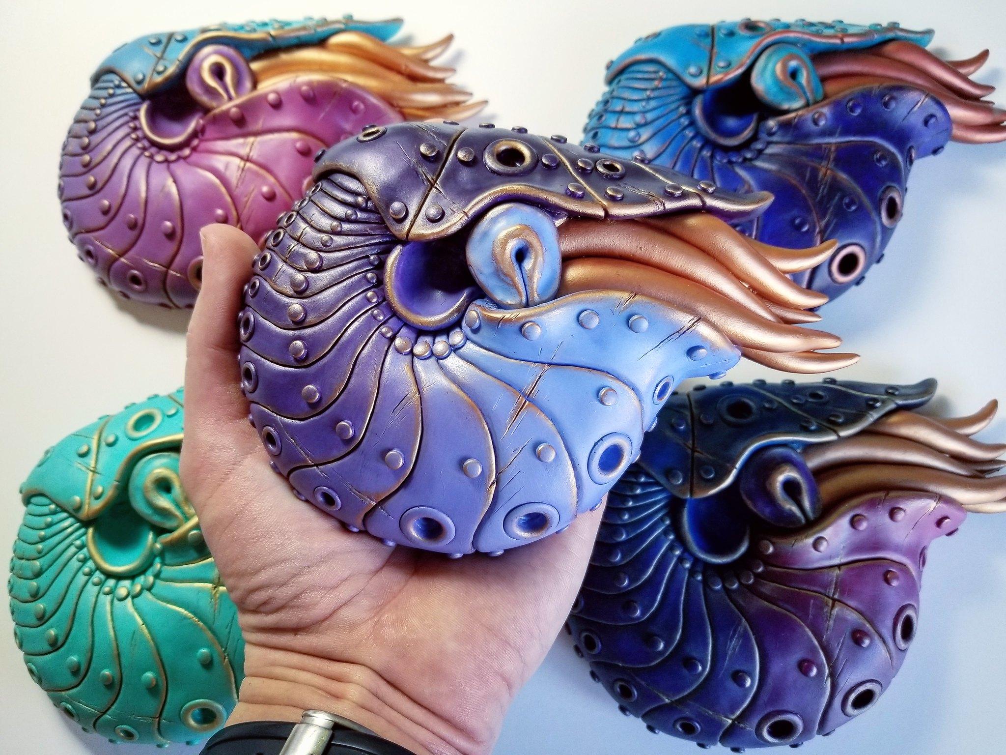 Nautilus by Calder Kibyuk Designs
