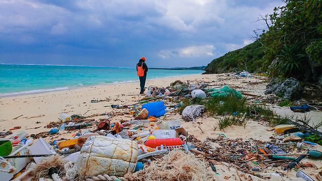海洋廢棄物監測