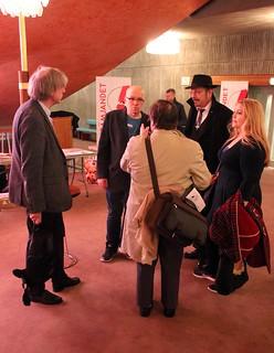 Rolf Lindby, Thomas Karlsson, Pidde Andersson, Malin Biller och Ola Hammarlund.